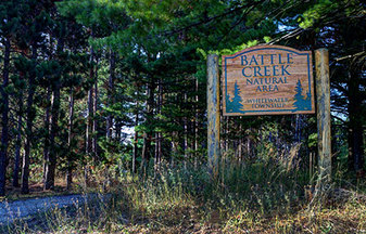 Battle Creek Natural Area in Williamsburg, MI